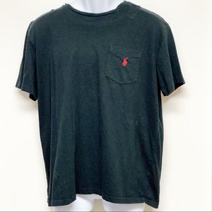 Polo Ralph Lauren T-Shirt Black Size Large